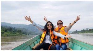 Mekong River boat ride ท่าผาถ่าน เชียงของ