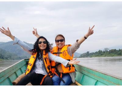 ล่องเรือชมเเม่น้ำโขง ChiangKhong