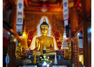 วัดพระแก้ว เชียงของ Chiang Khong Wat Pra Keaw