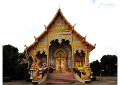temple in chiang khong