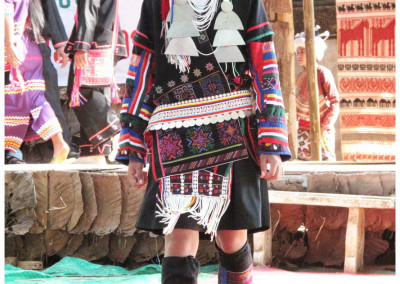 อาข่า  local hill tribe chiang khong
