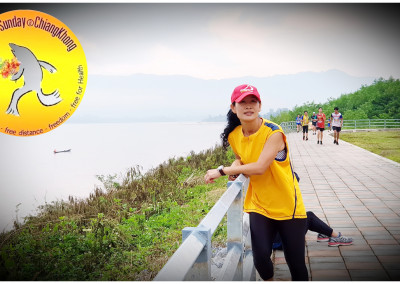 free run sunday at chiang khong