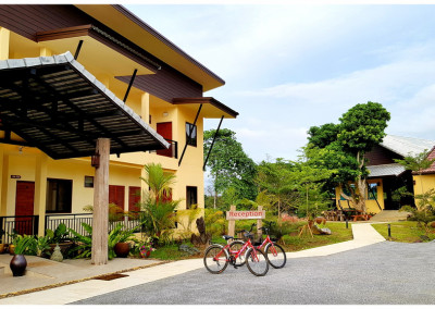 free bicycles at chiang khong hotel