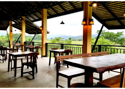 views of  baan sakuna restaurant