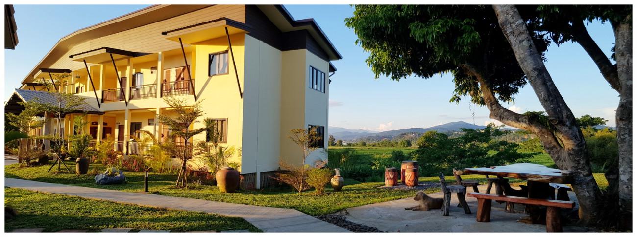 baan sakuna resort hotel chiang khong