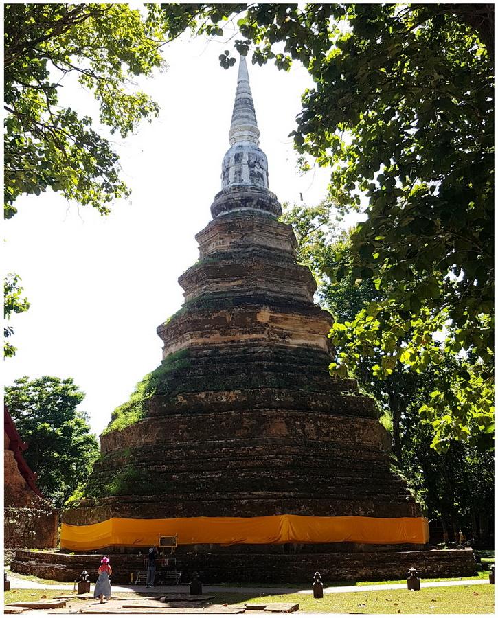 chedi luang temple chiang rai province