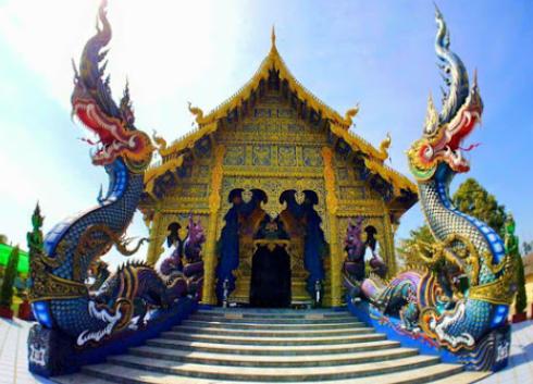 wat rong seur t en blue temple